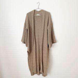 Urban Outfitters Plush Chenille Kimono Cardigan